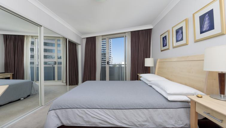 Double room at Astra Chatswood Apartments