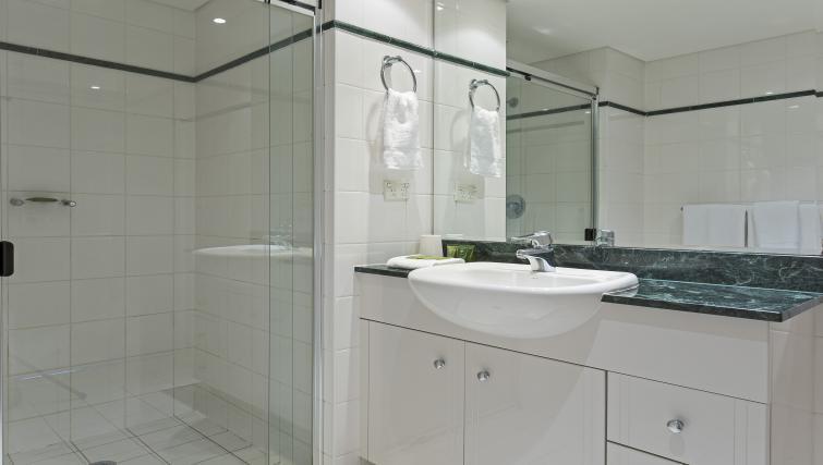 Bathroom at Astra Chatswood Apartments