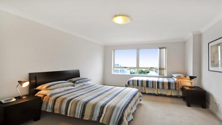 Large bedroom at Astra Chatswood Apartments