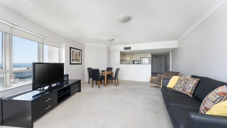 TV at Astra Chatswood Apartments