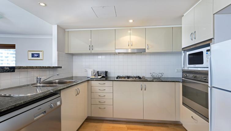 Kitchen at Astra Chatswood Apartments