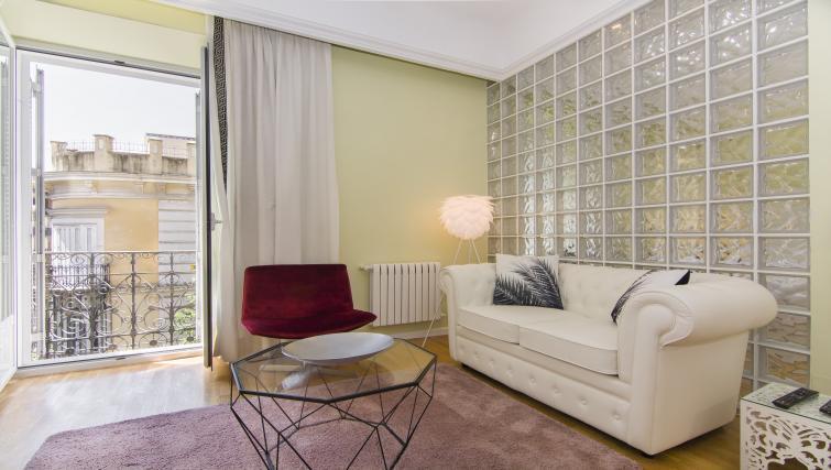 Modern living room at Ayala Apartments