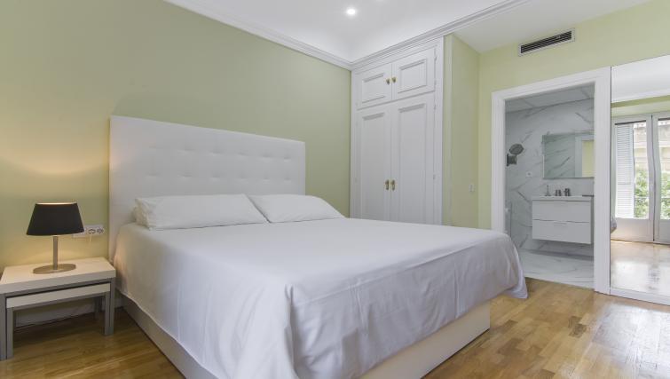 Mature bedroom at Ayala Apartments