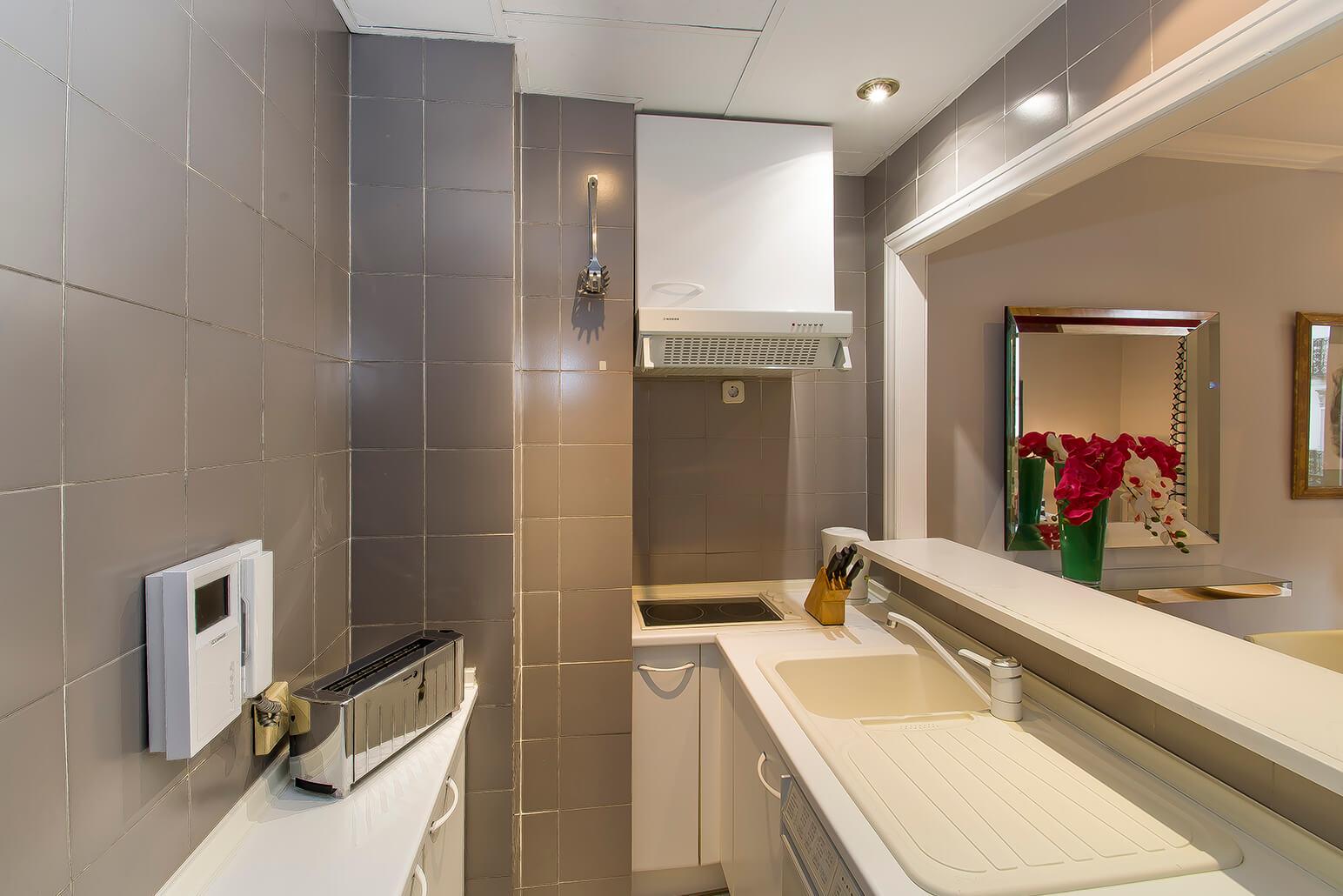 Bathroom at Ayala Apartments, Salamanca, Madrid