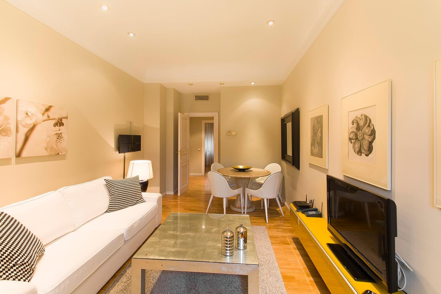 Cosy area at Ayala Apartments, Salamanca, Madrid