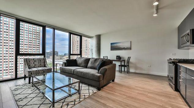 Living room at Aurelein Apartments