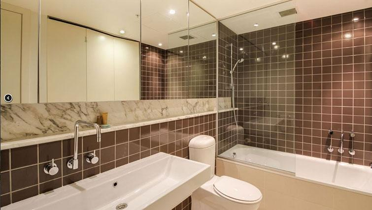 Bathroom at Freshwater Place Apartments