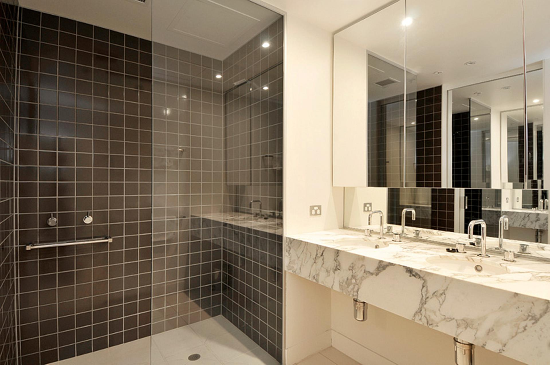 Shower at Freshwater Place Apartments