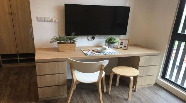 Desk at Nook Studio Apartments, Singapore