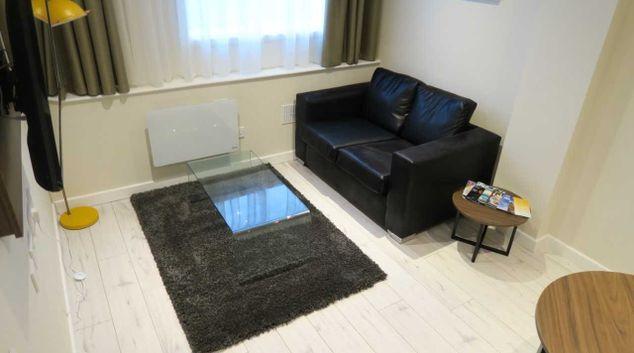 Living room at Quay Apartments Newport