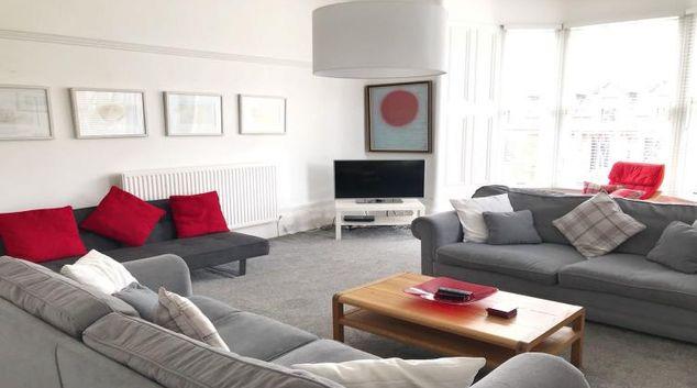 Living room at Bishopton Apartment
