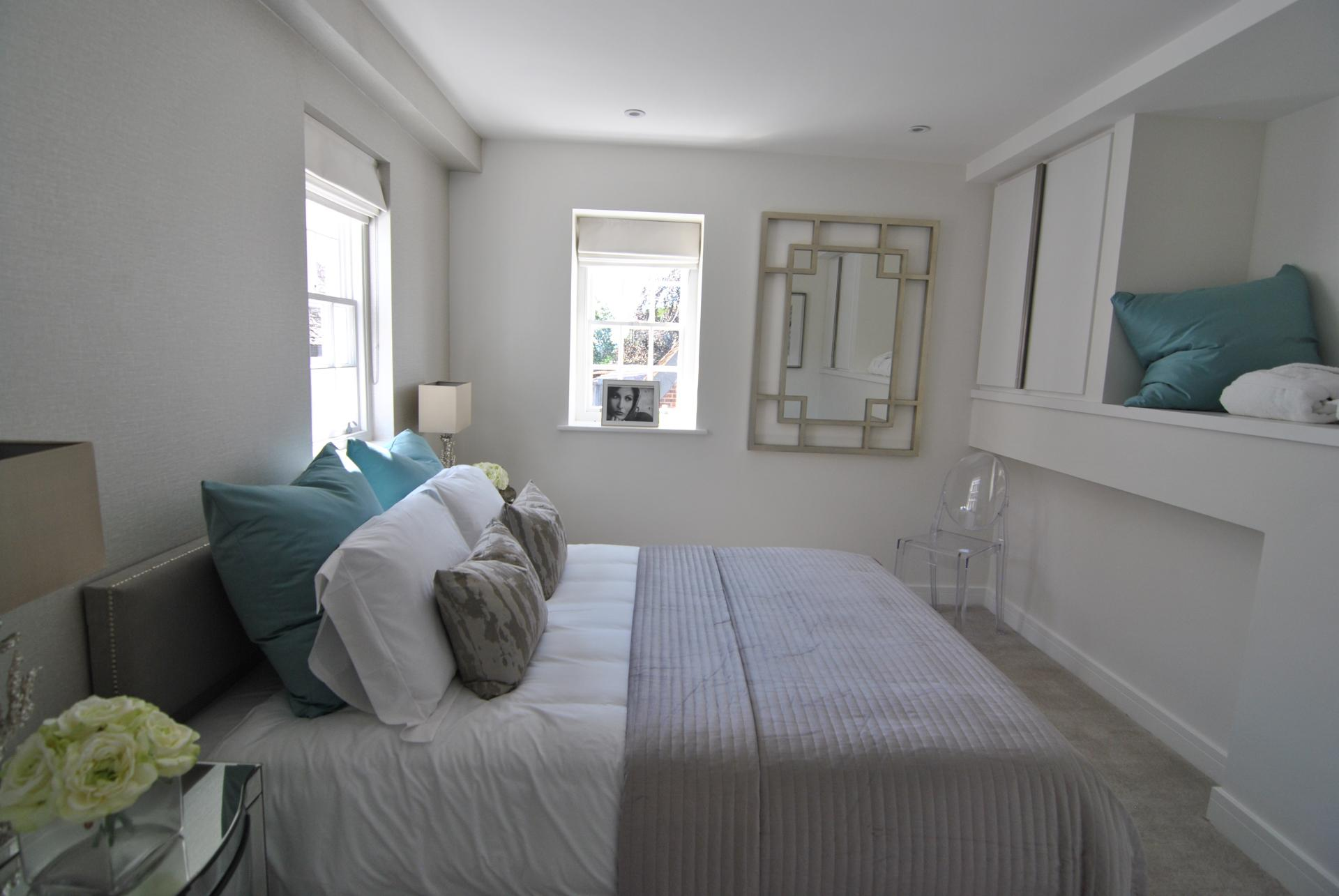 Clean bedroom at High Street Apartment