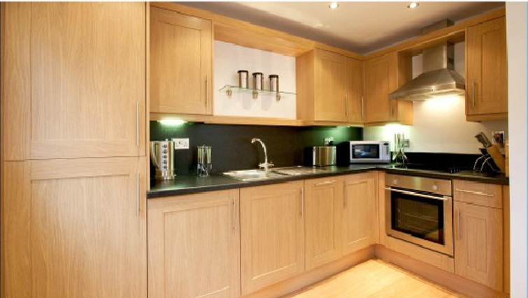 Stylish kitchen in Old Library Apartments