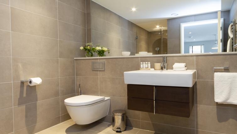 Bathroom at Eagle Yard Apartments