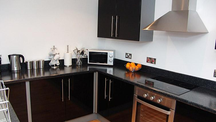 Kitchen at Quay Serviced Apartments