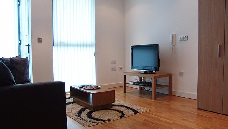 Living area at Quay Serviced Apartments