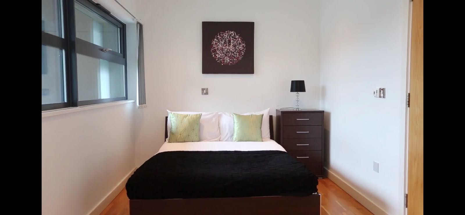 Cosy bedroom at Quay Serviced Apartments