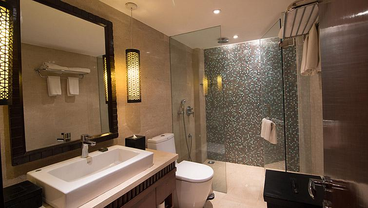 Shower at Z Luxury Residences
