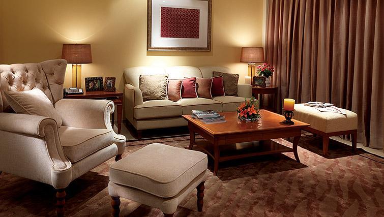 Stylish living area at Z Luxury Residences