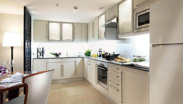 Equipped kitchen at Z Luxury Residences