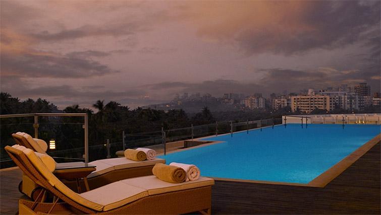 Swimming pool at Z Luxury Residences