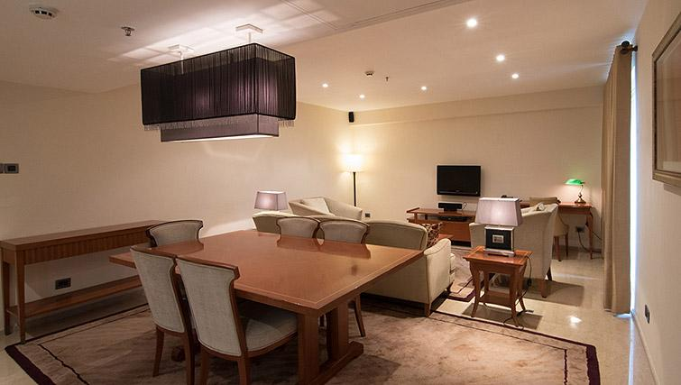 Open plan living/dining area at Z Luxury Residences