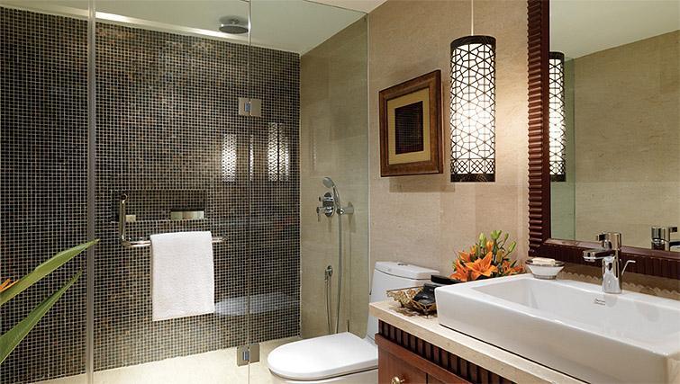 Shower room at Z Luxury Residences