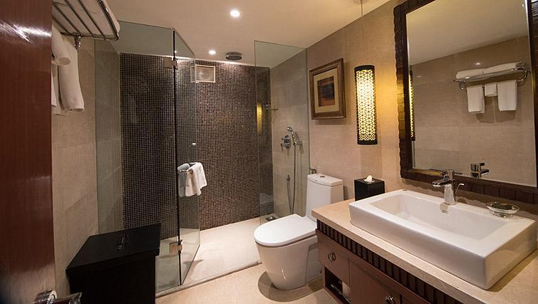 Modern bathroom at Z Luxury Residences