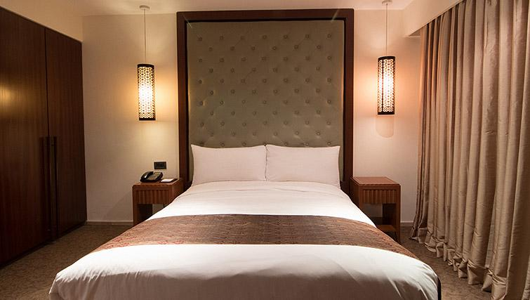 Double bed at Z Luxury Residences
