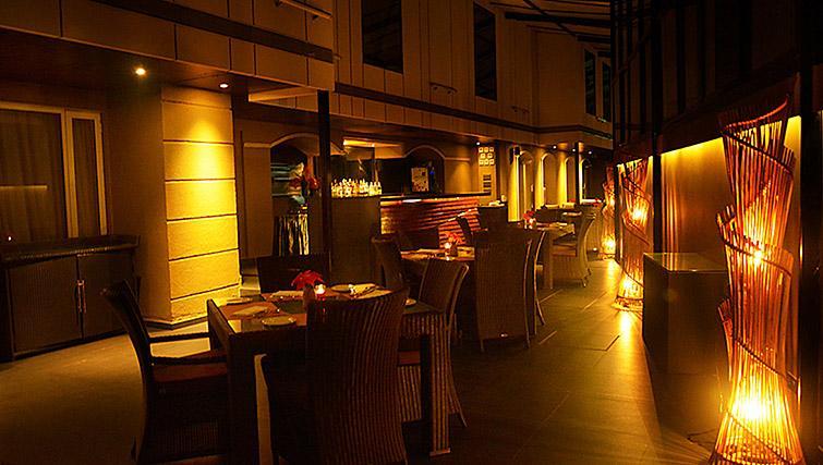 Stylish dining area at Z Luxury Residences