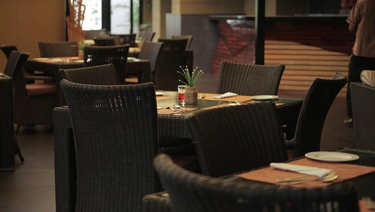 On-site restaurant at Z Luxury Residences