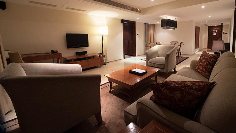 Living area at Z Luxury Residences