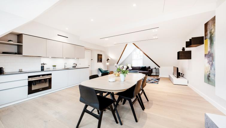 Kitchen at Floral Street Serviced Apartments