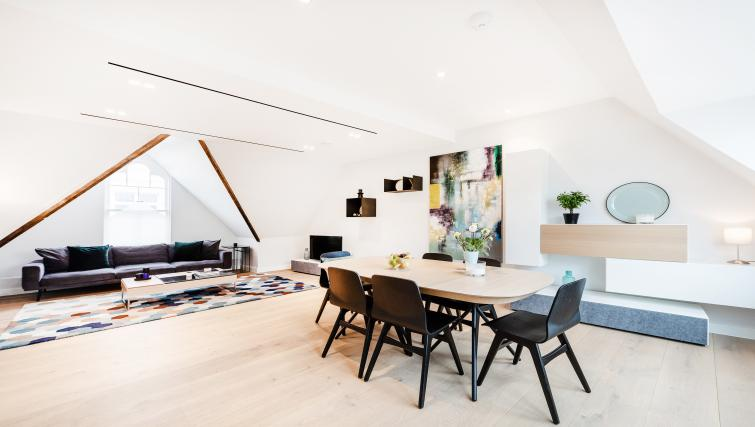 Dining table at Floral Street Serviced Apartments