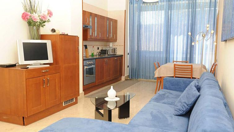 Bright living area at Lux Appartamenti Rome