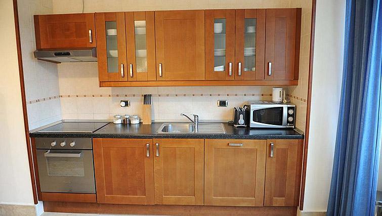 Stunning kitchen at Lux Appartamenti Rome