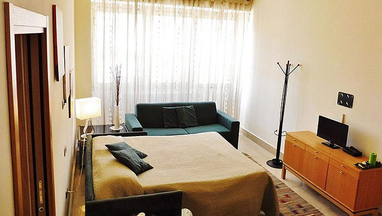 Living area at Vibrant living area at Lux Appartamenti Rome