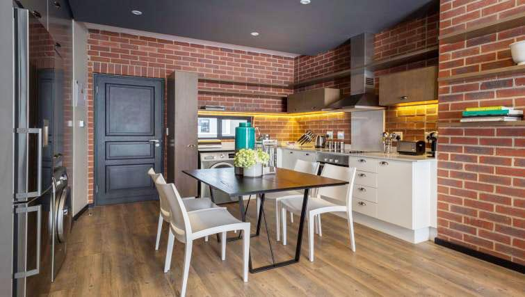 Kitchen at The Vantage Apartments