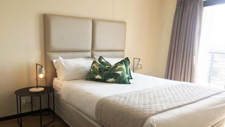 Bedroom at The Vantage Apartments