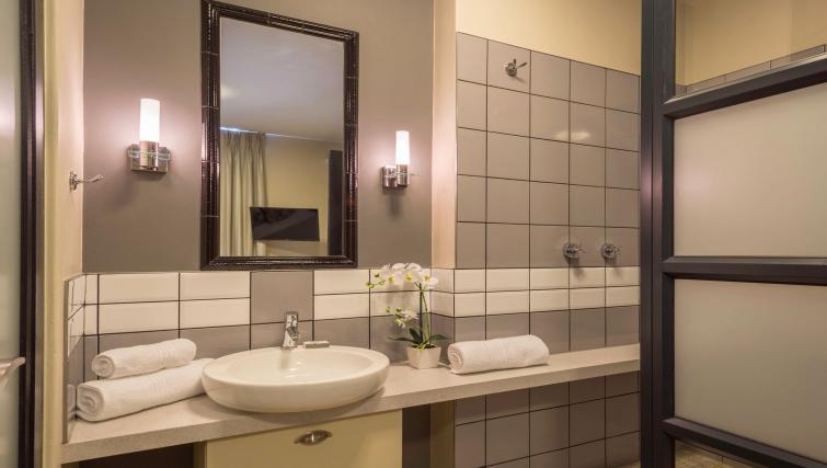 Bathroom at The Vantage Apartments