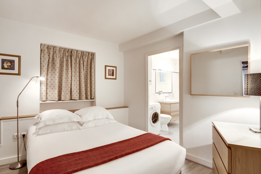 Bedroom at Rue d'Argout Apartments