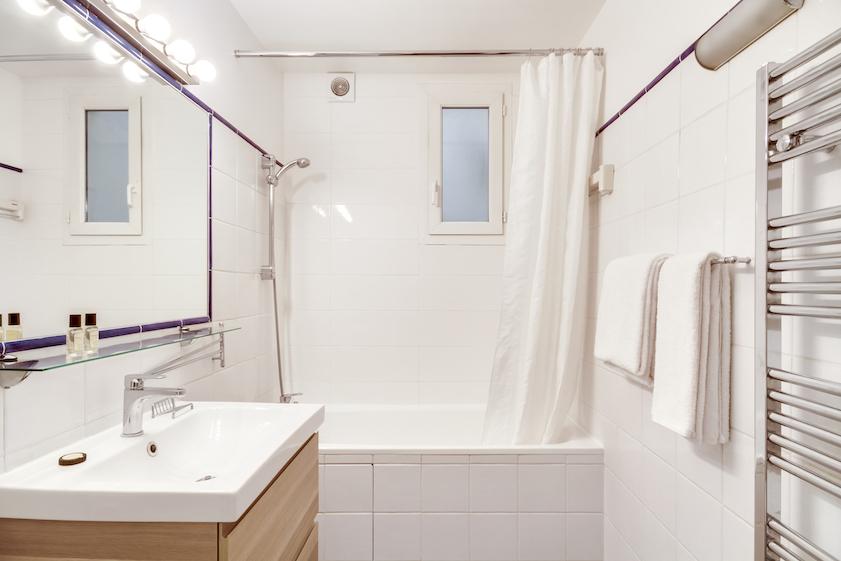 Bathroom at Rue d'Argout Apartments