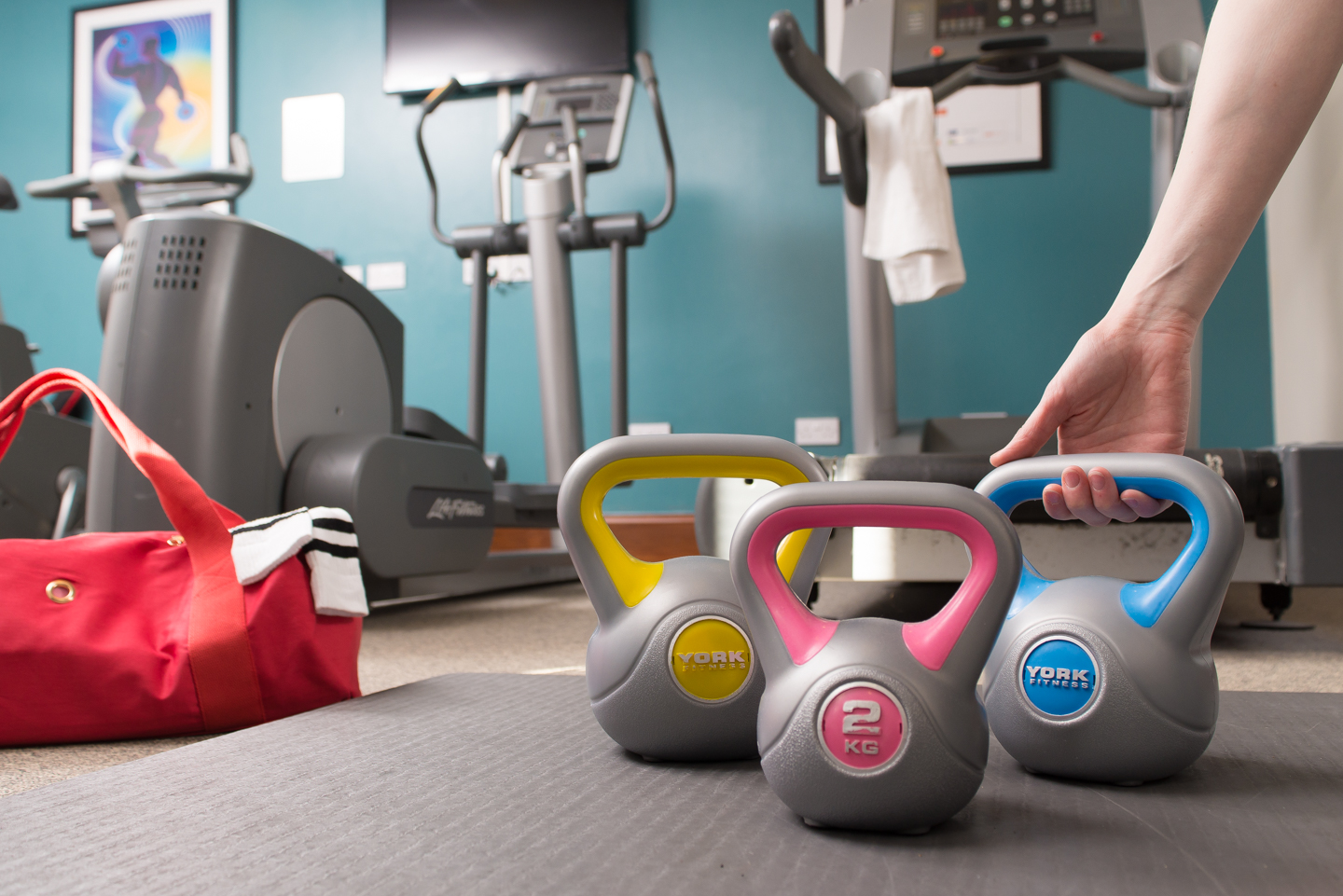 Gym at Staybridge Suites Newcastle