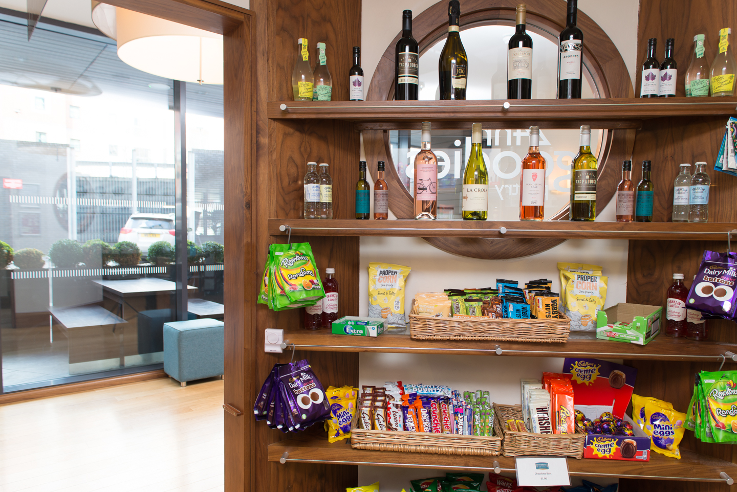 Pantry at Staybridge Suites Newcastle