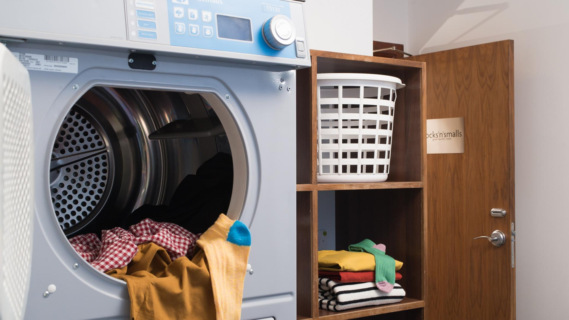 Laundry Facilities at Newcastle Staybridge Suites Newcastle