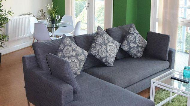 Living area at Birmingham Balcony