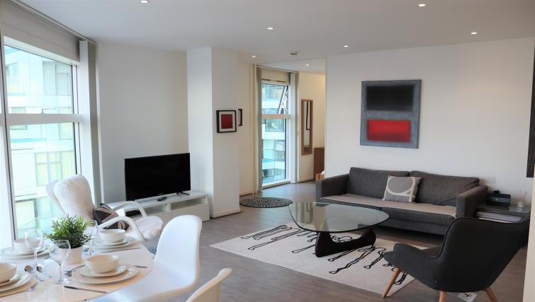Sofa at Canalside Living Apartments