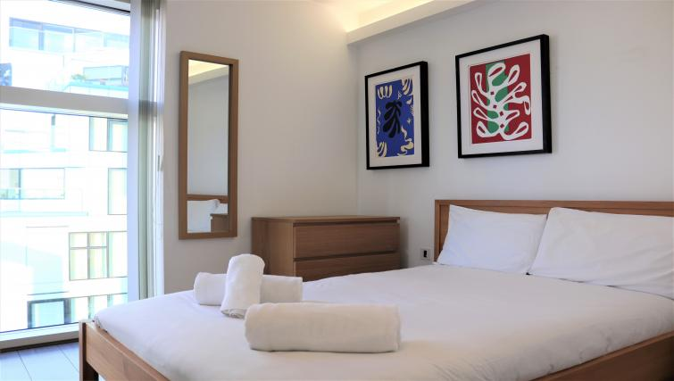 Modern room at Canalside Living Apartments