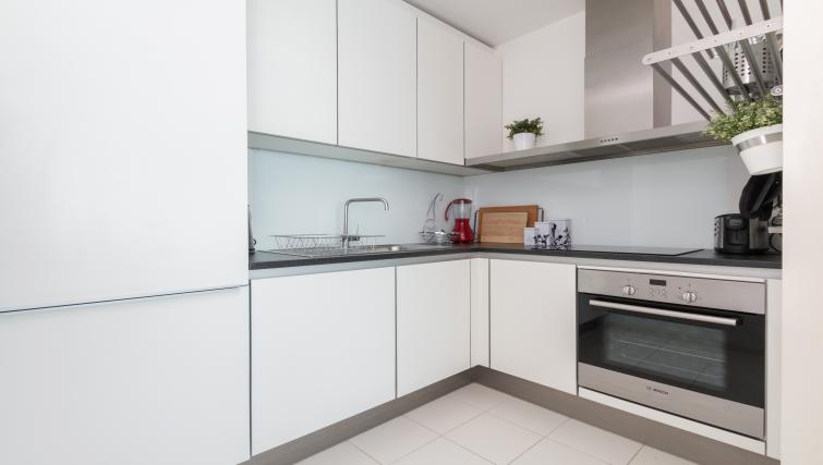 Kitchen at Canalside Living Apartments