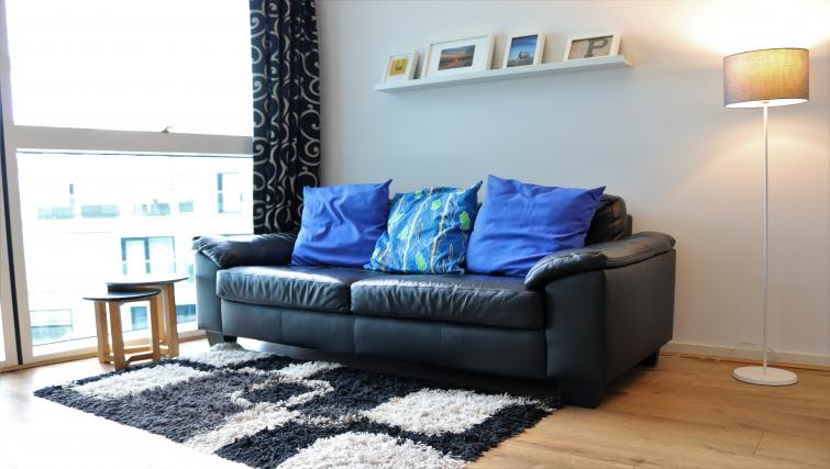 Lounge at Canalside Living Apartments